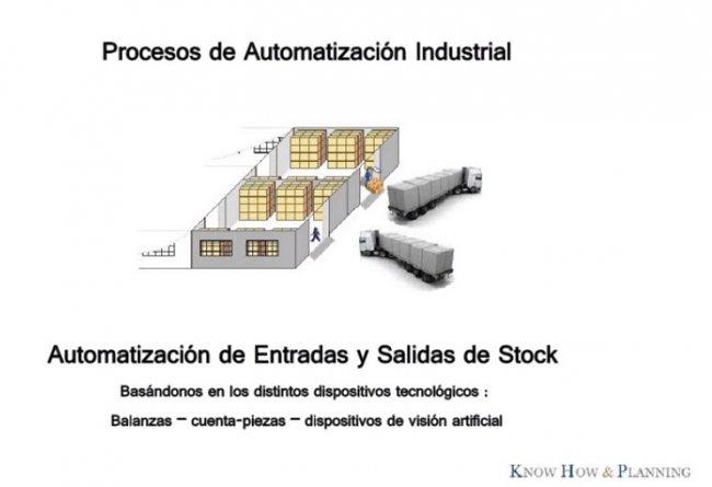 Automatización del procesos de entradas y salidas de stock en Industria [Webinar de 35 mnts.]
