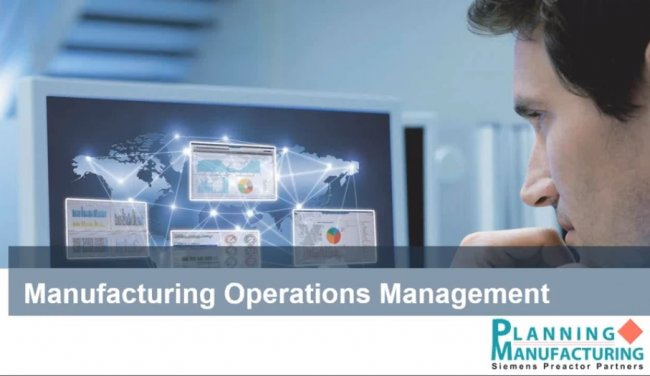 Manufacturing Operations Management (MOM), y Advanced Planning & Advanced Scheduling. Por planningmanufacturing.com [Webinar de 1 hora]