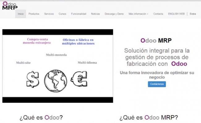 Odoo MRP, solución integral para la gestión de procesos de Fabricación [Webinar de 40 mnts.]