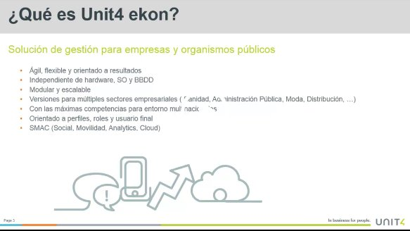 Unit4 Ekon 2015: Into y demo [Webinar de 30 mnts.]