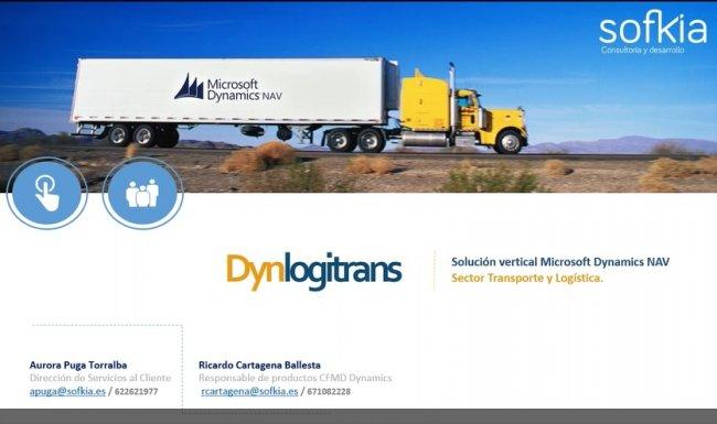 DynLogitrans, Solución sectorial Microsoft Dynamics NAV [Webinar de 80 mnts]