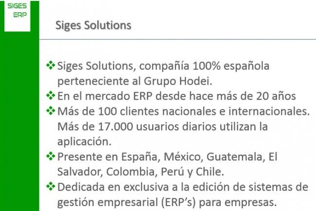 Hágase distribuidor de uno de los ERP más potentes del mercado. SIGES, la mejor relación calidad-precio [Webinar de 90 minutos]