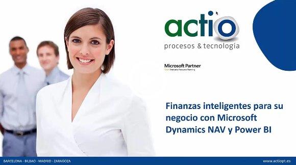 Análisis Financiero avanzado en Dynamics NAV 2016 con Power BI + módulo de finanzas [Webinar de 54 mnts.]