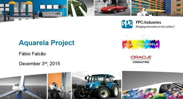 Oracle EBS R12 en PPG Industries Brasil, fabricante de pinturas y revestimientos [Webinar de 1 hora en portugués]