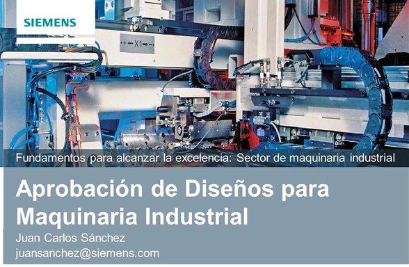 PDM en fabricación de maquinaria industrial. Por Siemens Industry Software. [Webinar de 1 hora]