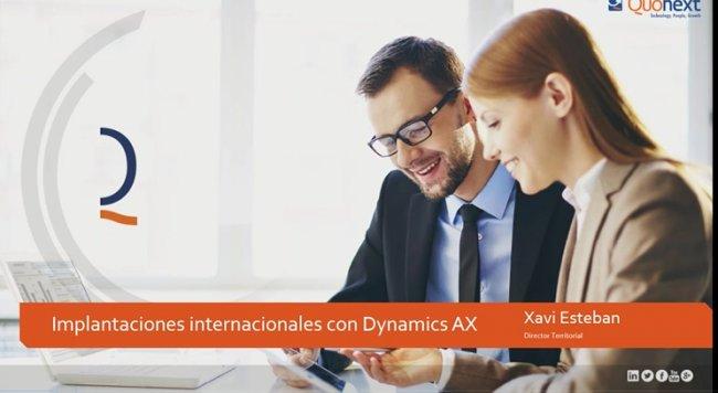 Cómo obtener el máximo ROI en sus proyectos internacionales de Microsoft Dynamics AX (Axapta) [Webinar de 1 hora]