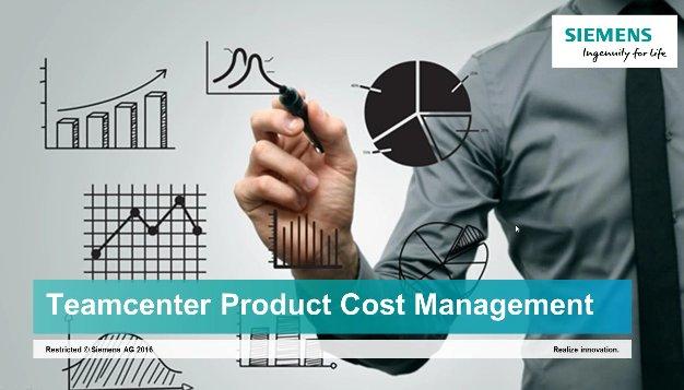 Gestión del Coste de los productos industriales con Siemens Teamcenter. Intro y Demo. [Webinar de 1 hora]