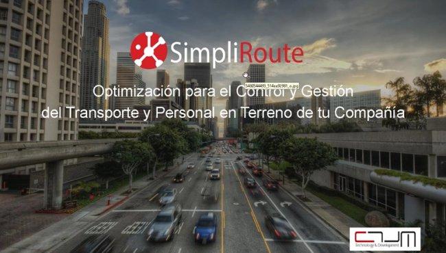 Simpliroute: Software en la nube de Planificación y optimización de Rutas de Transporte [Webinar de 1 hora]