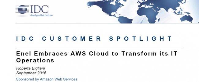 Enel migra sus data centers a Amazon WS [Case Study]
