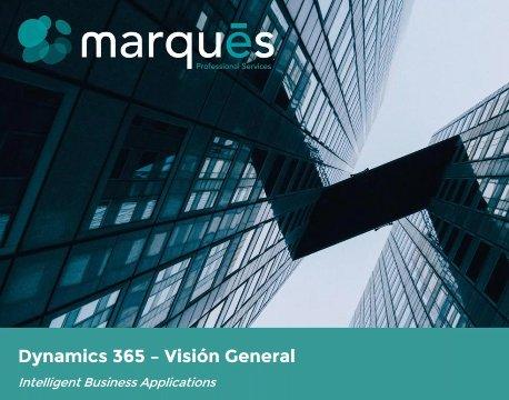 Dynamics 365. Todo lo que tiene que saber. Por Marques-PS.