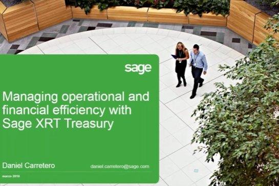Gestión avanzada de Tesorería y finanzas con Sage XRT. Por Quonext. [Demo]