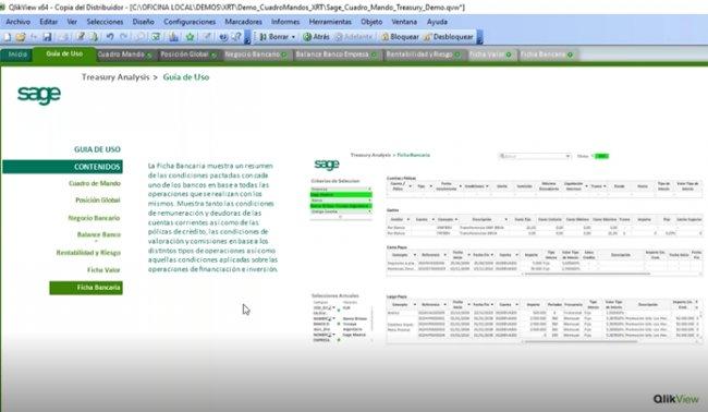 Tesorería analítica SaaS con Qlik y Sage XRT. Intro y demo. [Webinar de 40 mnts.]