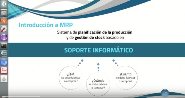 MRP para Libertya. Intro y demo. [Videos]