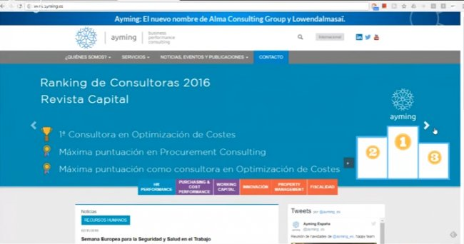 Digitalización del Proceso de Compras [Video entrevista con ayming.es]