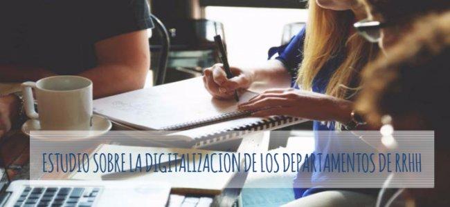 Estudio sobre digitalización de RRHH en España. Por Talentia Software y Grupo BLC.  [PPT 64 pgs]