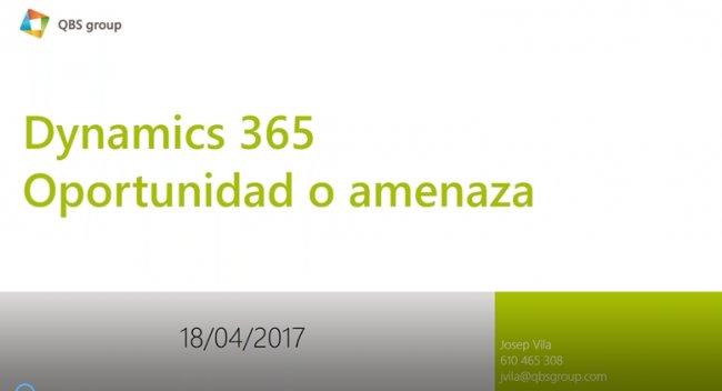 Para el VAR: ¿Cómo ganar dinero con Dynamics 365? [Webinar de 17 mnts.]