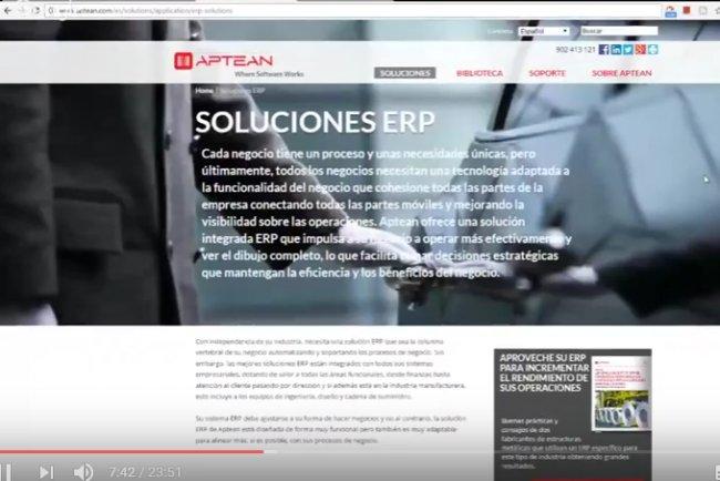 Ross ERP y Factory MES para el sector de Fabricación (Video Entrevista)