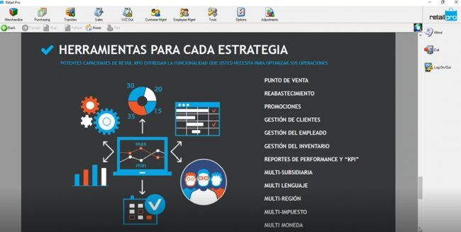 RetailPro 9. Retail Management System. Intro y demo. (Screancast de 1 hora)