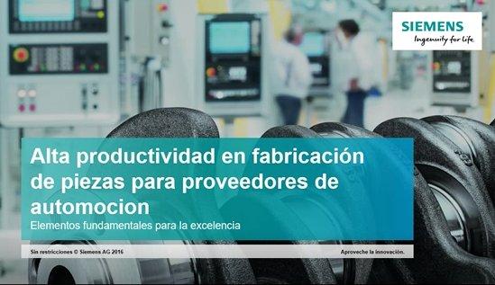 Siemens NX 11: Digitalización del proceso de fabricación de última generación. Intro y demo.  (Webinar de 50 mnts.)