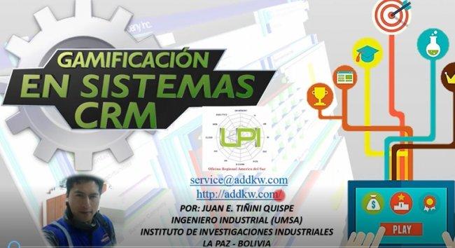 Aplicación del concepto de Gamificación en el uso del sistema Zurmo CRM