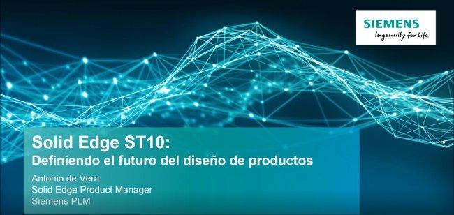 Diseño industrial de nueva generación con Solid Edge ST10