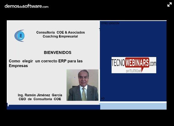 ¿Cómo seleccionar el ERP más adecuado para su empresa? [Webinar en español de 107 min.]