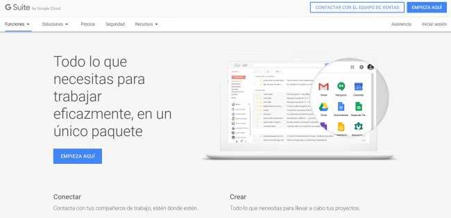 Google Suite para Usuarios (Curso 8 horas)