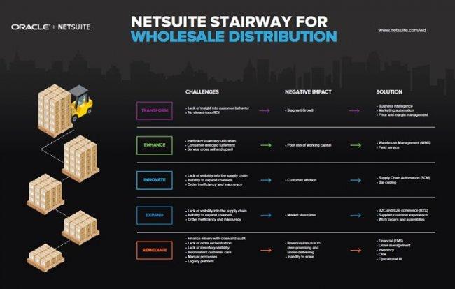 Oracle Netsuite para Mayoristas. Informe de funcionalidades y capacidades.
