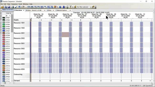 Planificación y secuenciación a capacidad finita para todas las empresas con Siemens Preactor [Webinar español de 47 min]