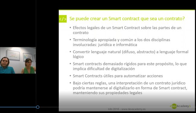 Smart Contracts (Blockchain): Todo lo que deberías saber [Video 87 min]