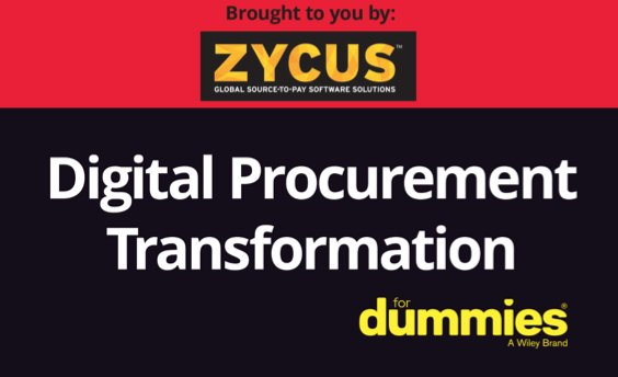 Digital Procurement Transformation for Dummies [eBook inglés 36 págs]