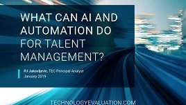 What Can AI and Automation Do for Talent Management?
