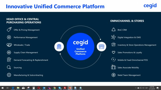 Unified Commerce Platform de Cegid [Audio Entrevista y PPT]
