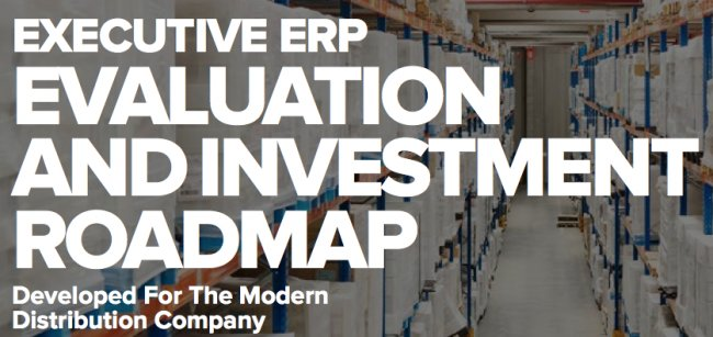 ERP Evaluation and Investment Roadmap