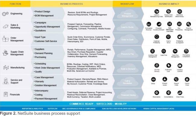 Netsuite para Fabricación, Distribución y Alimentación [Informes TEC]