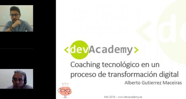 Coaching tecnológico en un proceso de transformación digital