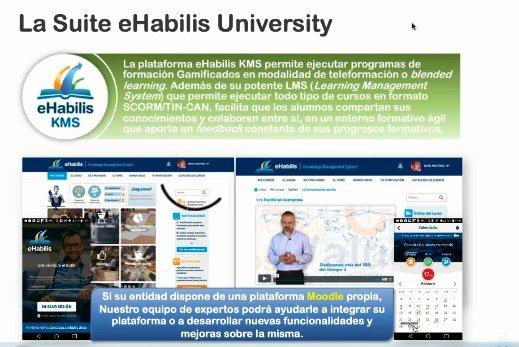 Gestión económica y educativa en la Universidad con eHabilis
