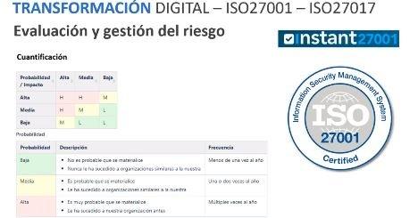 Transformación digital sí, pero segura: ISO 27001