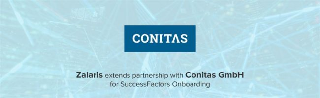 Zalaris implementa SAP SuccessFactors Onboarding en Conitas GmbH